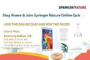 Springer Nature Online Quiz