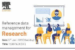 การอบรมหัวข้อ Reference Data Management for Research